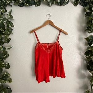 🎉50% Off🎉Free People Tank Top Red